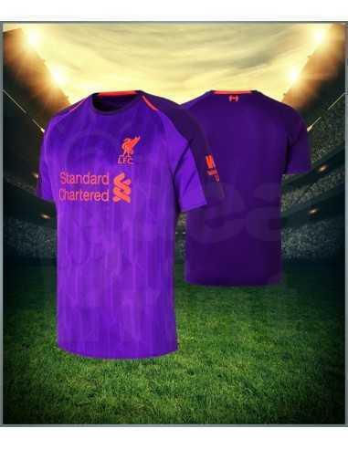 Camiseta de Futbol 2da Equipacion Liverpool 2018-2019