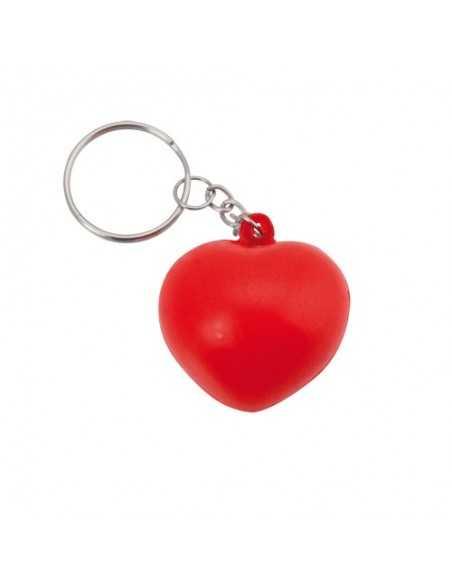 Llavero Antiestrés corazon