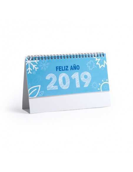 Calendario Sobremesa Feber